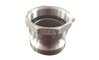 Type AF DIN2828 Camlock Coupling Male Adapter X Female Thread